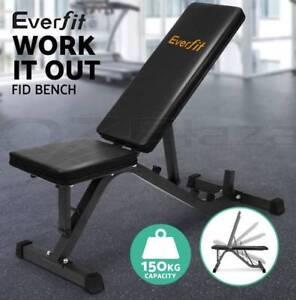 Adjustable Weight FID Bench Fitness Flat Incline Decline Press