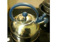 """Pyramid"" fast boil kettle for use on gas hobs only."