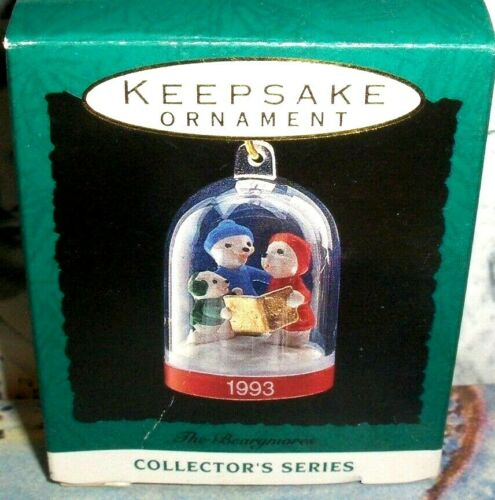 The Bearymores`1993`Miniature-2Nd In The Bearymores Series,Hallmark Ornament