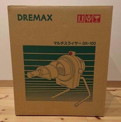 Nuevo DREMAX Eléctrico Verduras Cortador DX-100 De Japón