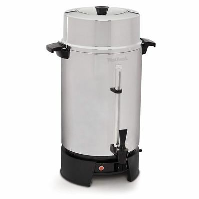 Best West Bend Quick Brewing Large Commercial Coffee Urn 100 Cup Coffee