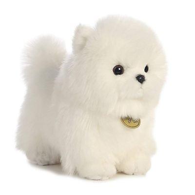 Pompom White Pomeranian Puppy Plush Toy Stuffed Animal Soft Doll Kid Cuddle Gift](Stuffed Puppies)