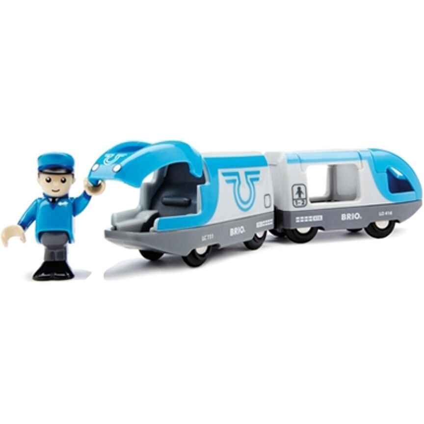 Brio Travel Battery Powered Wooden Train Engine Thomas Compatible 33506