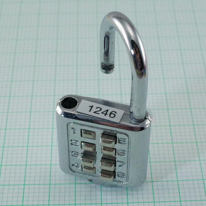 8 Digit Push Button Security Combinations Lock-4 Digit Locking Code