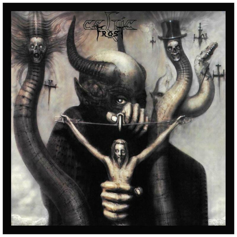 Celtic Frost - POSTER - To Mega Therion - Swedish Metal HR Giger WALL ART PRINT