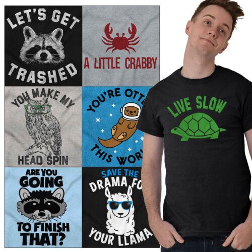 Wildlife Tees Shirt Animals Funny T Shirts For Mens Womens P
