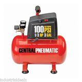 3 Gallon Air Compressor 100PSI 1/3 HP Oilless Electric Portable Maintenance-Free