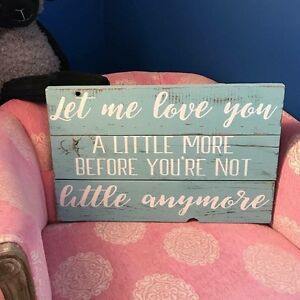 Custom wood signs for Children's Rooms