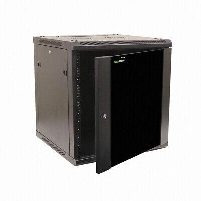 12U Wall Mount Network Server 600mm Depth Cabinet Rack Enclosure Glass Door Lock, usado comprar usado  Enviando para Brazil