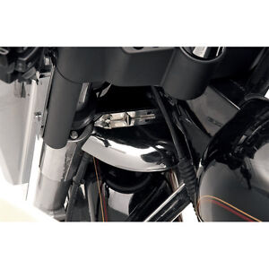 Lower-Triple-Tree-Wind-Deflector-Front-Fork-Air-Baffle-For-Harley-Touring