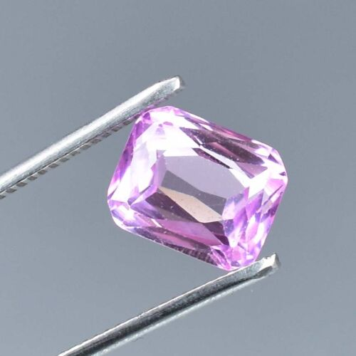 AAA+ 6.85 Ct Excellent Quality Natural Pink Morganite Loose gemstone Certified