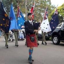Bagpiper for hire - Newcastle area East Maitland Maitland Area Preview