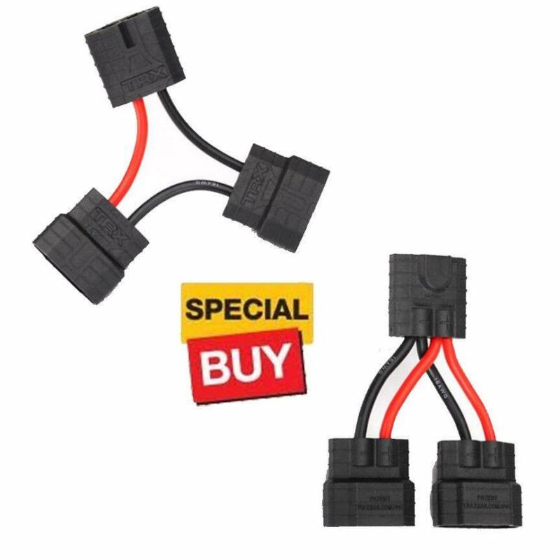 Traxxas 3063x Series & 3064x Parallel Wire Harness ID Battery Connector Adapter