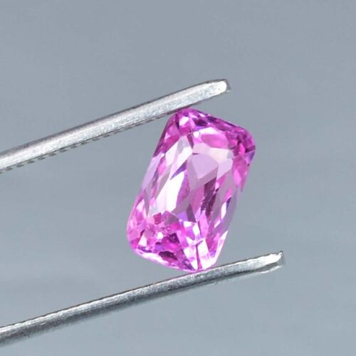 AAA+ 5.60 Ct Excellent Quality Natural Pink Morganite Loose gemstone Certified