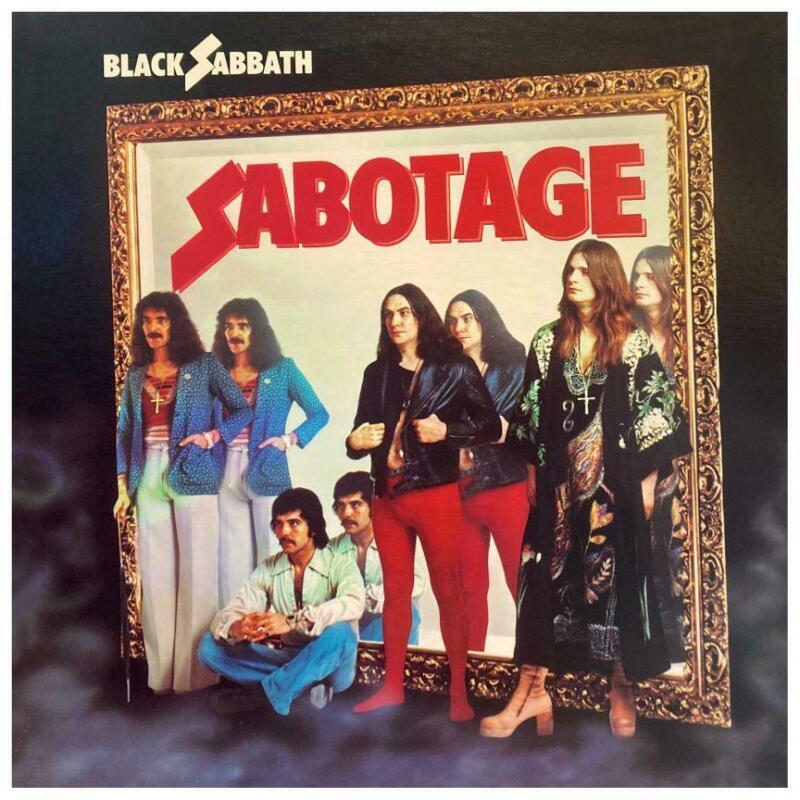 "Black Sabbath - LARGE POSTER - Sabotage - OZZY - Album Wall Art - HUGE 24"" X 24"""