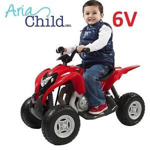 NEW ARIA CHILD 6V ATV RIDE-ON TOY KID'S RIDE ON POWERSPORT ATV MINI QUAD - RED 103809012