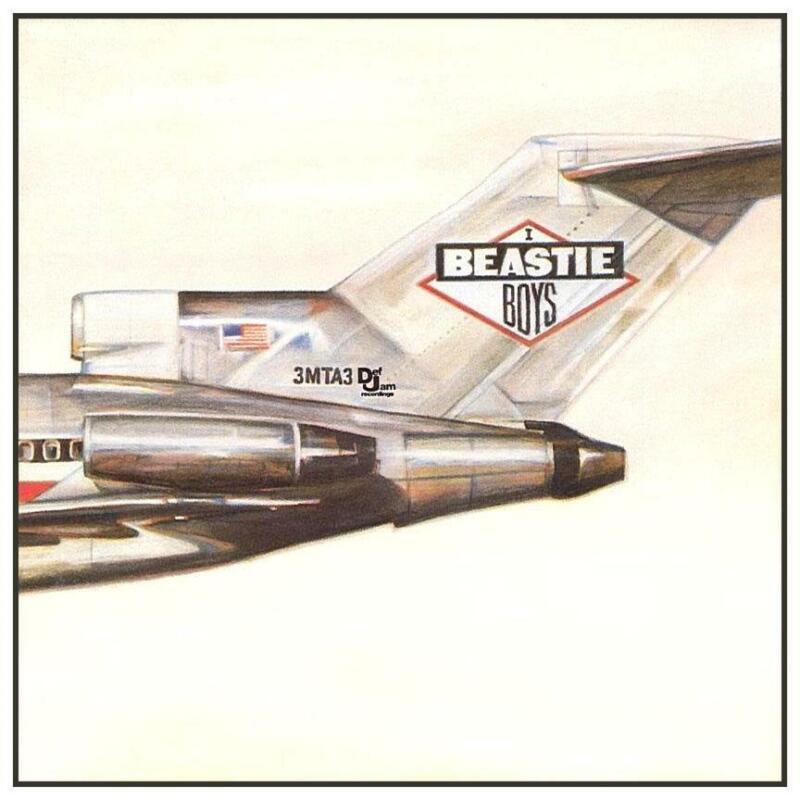 Beastie Boys - HUGE POSTER - Licensed To Ill album - AMAZING Wall Art Print