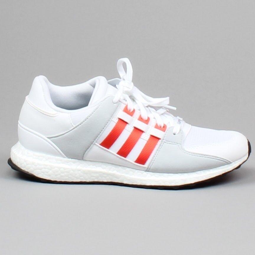 buy popular d27e2 e4a79 Adidas EQT Support Ultra Running Shoes White Grey Orange Sne