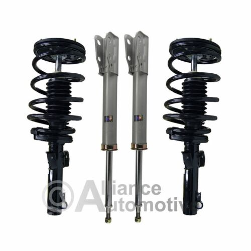 New Complete Front Pair Strut Quick Assembly & Rear Shocks For 06-11 KIA RIO