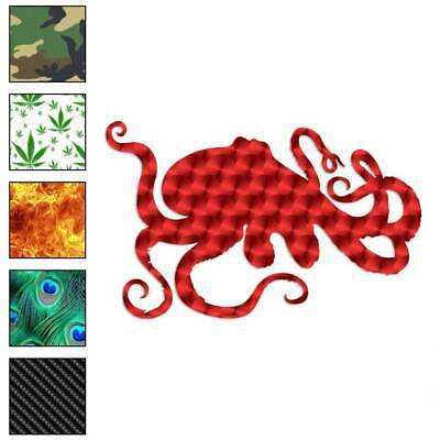 Octopus Decal Sticker Choose Pattern + Size #487