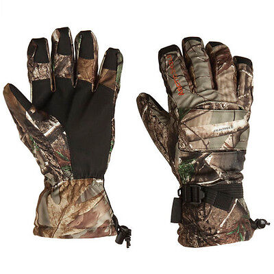 NEW PAIR ONYX ARCTIC SHIELD CAMP GLOVES,REALTREE AP CAMO HUNTING GLOVE,M/MEDIUM