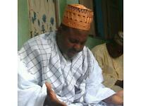 African Spiritual Healer & Clairvoyant, Medium - Sheikh Nounou