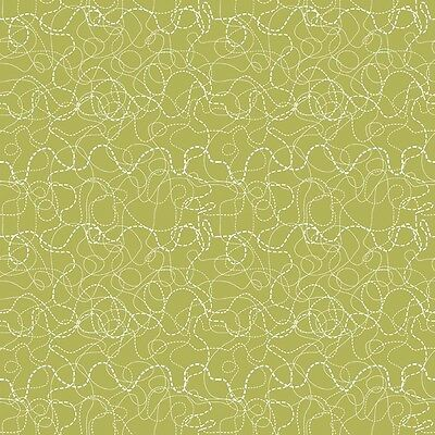 Treasure Map Search Green by Lesley Grainger for Riley Blake, 1/2 yard fabric