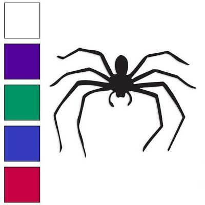 Spider Insect Arachnid Decal Sticker Choose Color + Large Size #lg1388](Colorful Spider)