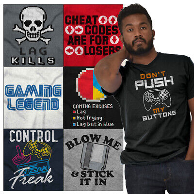 Funny Shirts For Women (Gamer Tees Graphic T Shirts Nerd For Men Women Funny Video Gaming Gifts)