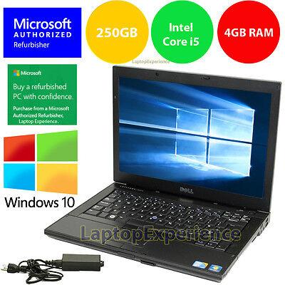 Laptop Windows - DELL LAPTOP LATITUDE E6410 INTEL i5 4GB RAM 250GB DVDRW WiFi WINDOWS 10 WIN HD