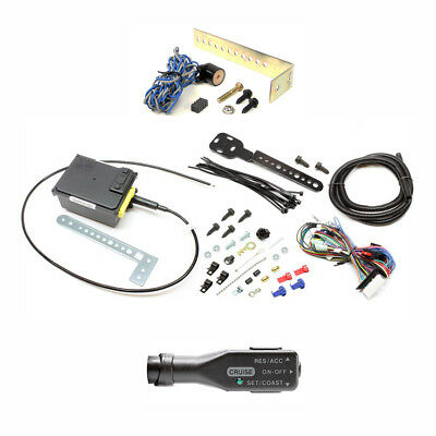 Rostra 250-1223 Cruise Control Kit+3743 Right  Stalk Handle+4165 Speed Sensor -