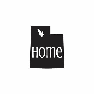 Home Decoration - Utah Home State - Vinyl Decal Sticker - Multiple Colors & Sizes - ebn3846