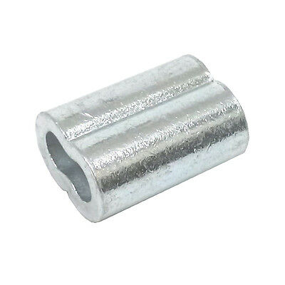 100ea Aluminum Sleeves For Wire Rope 116