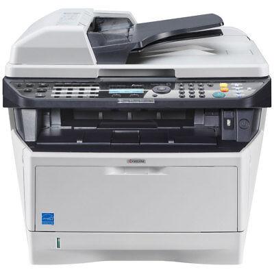 600 Dpi Printer Fax - Kyocera M2535DN MFP Laser Printer COPY FAX SCAN w/Toner  1,800 X 600 dpi