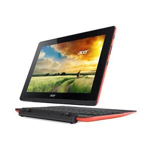 """*** USED *** ACER RED ACER 10"""" SWITCH TAB.   S/N:1789AD7200   #STORE615"""