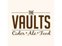 HEAD CHEF NEEDED! Immediate start! The Vaults- Small Family Run Pub in Newark