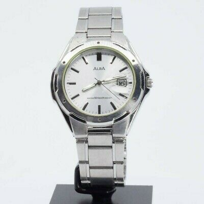 SEIKO ALBA QUARTZ V732-0S00 WATCH