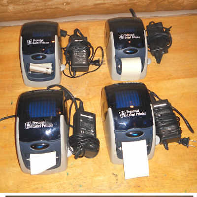 Lot Of 4 Avery 09100 Personal Label Printers With Ac Adapters