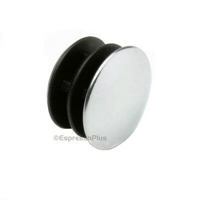 Espresso Portafilter Handle Stainless Steel End Cap