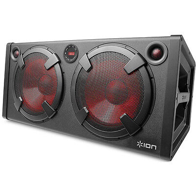 Ion Audio Road Warrior - 500-Watt Rechargeable Bluetooth Stereo Speaker System I