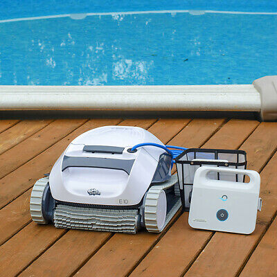 Dolphin E10 AboveGround Robotic Pool Cleaner w/Clever Clean Maytronics 99996133