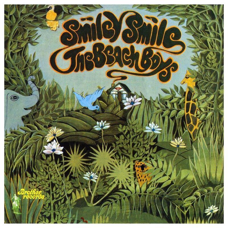 the Beach Boys - HUGE POSTER - Smiley Smile Album Promo - Brian Wilson - AMAZING