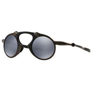 7d1368a840 Oakley Polarized Madman Sunglasses 601902 Frame Pewter Black Iridium ...