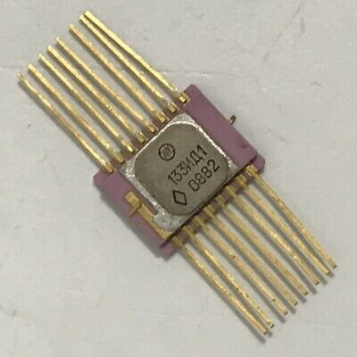 14ea Gold Lead Surface Mount Russian 133id1 K133id1 74141 Sn74141 Nixie Driver