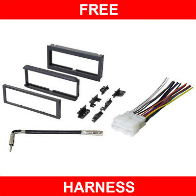 Install Dash Kit Gmc Jimmy - 1998-2002 GMC Sonoma Jimmy Car Stereo CD player Radio Install Dash Kit Combo