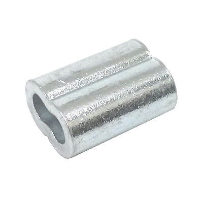 50ea Aluminum Sleeves For Wire Rope 316