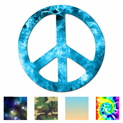 Home Decoration - Peace Sign - Vinyl Decal Sticker - Multiple Patterns & Sizes - ebn941