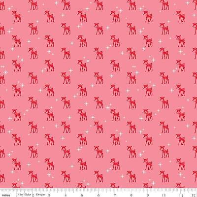 Ткань Lori Holt Fabric Pink Cozy