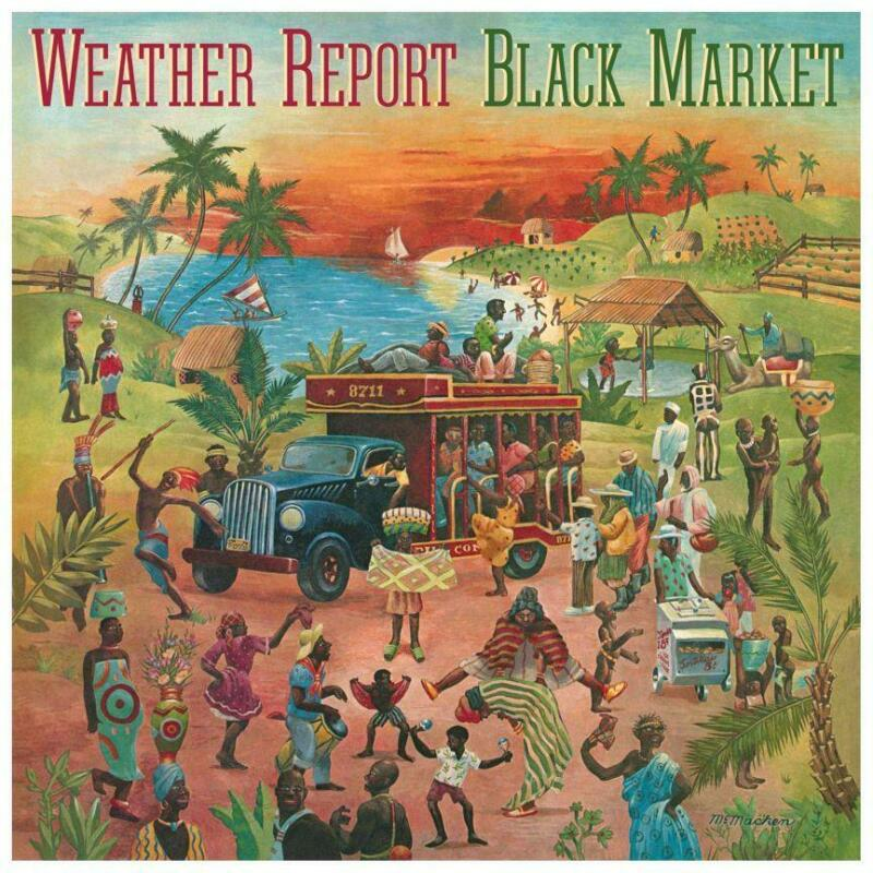 "Weather Report - LARGE POSTER - Black Market - 24"" X 24"" - Wall Album Print"