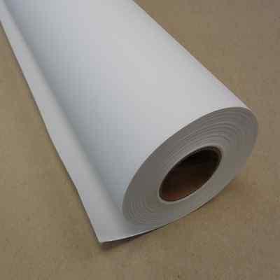 "24"" x 40' Matte Polyester Inkjet Canvas Roll for Wide Format Inkjet Printers"